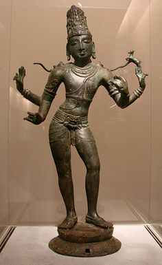 Shiva Vinadharadaksinamurti, Bronze, Chola Dynasty, 11th century, Tamil Nadu, India, Musée Guimet, Paris