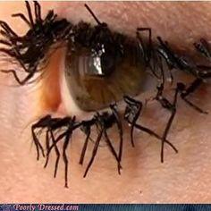 insect leg eyes  ewwww