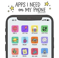 What are the must-have apps on your phone? Journal App, Study Apps, Vie Motivation, Applis Photo, School Study Tips, Phone Organization, Editing Apps, Self Care Activities, School Hacks
