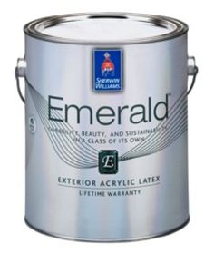 Emerald™ Exterior Acrylic Latex Paint From Sherwin Williams