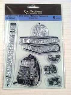School Days Clear Stamp by Recollections 6 by RoyalDescent10, $5.35
