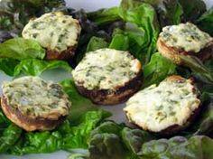 SOSCuisine: Champignons farcis au fromage Préparation 10 min / Cuisson 15 min #Recette de variante de champignons fort appréciée pour vos invités gourmets
