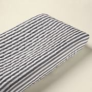 Baby Changers: Baby Grey Stripe Changing Pad Cover in Changer Pad Cover