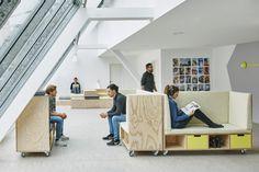 mobile Elemente im Projektraum der WFP Office in München Foto © Daniel Schäfer