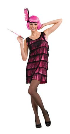 Penny pink flapper costume