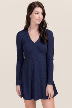 Harper A-Line Knit Dress