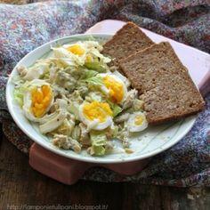 Insalata di tacchino e uova