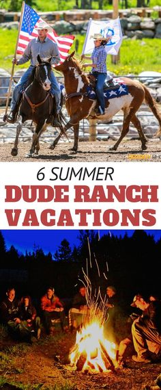 6 Dude Ranch Vacations to Take this Summer - The Dude Ranchers' Association Dude Ranch Vacations, Mountain Vacations, Vacation Places, Vacation Trips, Vacation Ideas, All Inclusive Trips, Riding Horses, Adventure Bucket List, Travel Planner