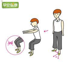 女性更年期易骨鬆!10秒深蹲幫助骨骼新陳代謝 | 骨質疏鬆 | 膝蓋 | www.everydayhealth.com.tw 早安健康