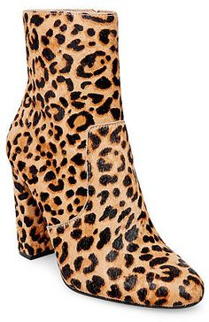 5593acfdb96 Editor-L · Block Heel Ankle BootsHigh Heel BootsBlock HeelsBootie  BootsAnkle BootiesLeopard Print Ankle BootsTrendy Womens ShoesSteve Madden  ...