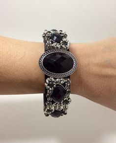Fitbit Charge HR Partial Cover Black Stone Flower by FabFitBracelets on Etsy https://www.etsy.com/listing/508232027/fitbit-charge-hr-partial-cover-black