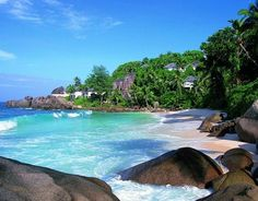 #Seychellen Urlaub, Strand auf Mahe - #Seychelles Mahe beach