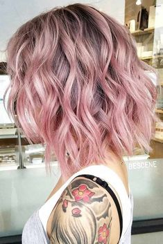 20 Best Hairstyles For Women With Shoulder Length Hair Hair inspiration – Hair Models-Hair Styles Haircuts For Wavy Hair, Cool Hairstyles, Short Haircuts, Wavy Medium Hairstyles, Haircut Short, Latest Hairstyles, Celebrity Hairstyles, Wedding Hairstyles, Pastel Pink Hair