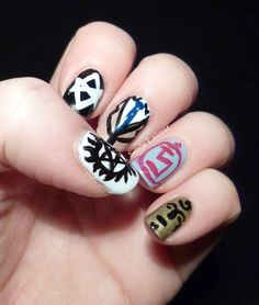 Seoda Laicear: Nerdy Nails Issue 1: Supernatural