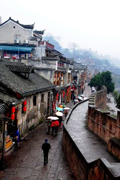 phoenix ancient town, hunan, china | villages and towns in east asia + travel destinations #wanderlust
