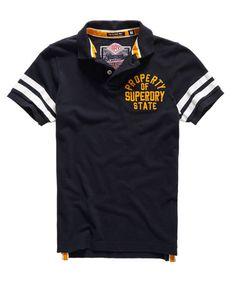 Superdry Super State Piqué Polo-Shirt