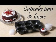 Miniature Cupcake Liners   Polymer Clay Tutorial   Polymer Clay Cupcakes - YouTube