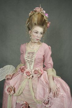Rococo- Marie Antoinette style by Holietka.deviantart.com on @deviantART