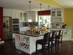kitchen painted cabinets - Google Search