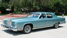1979 Lincoln Continental Town Car.  I remember riding many times in my grandmother's Lincoln - would call it house on wheels!