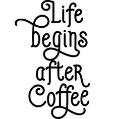 Silhouette Design Store: life begins after coffee