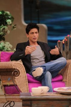 Shahrukh Khan - Love every movie of his for the sheer sincerity he attempts it with! :)