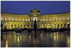 Hofburg Imperial Palace, Vienna, Austria.