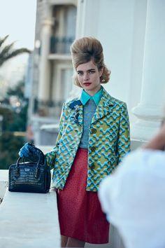Natalia Vodianova and Adrien Brody for American Vogue