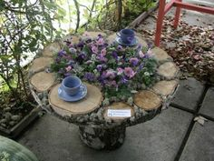 Handmade flower bed idea. | Handmade website