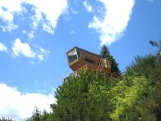 Baumraum treehouse in Germany