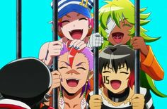 NanBaka! - Uno, Nico, Rock, Jyugo ❤