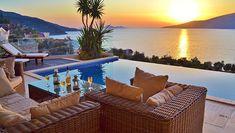 Villa Myra Kalkan Sleeps up to 8 Outdoor Sectional, Sectional Sofa, Outdoor Furniture, Outdoor Decor, Villa, Beach, Design, Home Decor, Modular Couch
