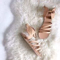Greek tan sandals for sale on Poshmark!