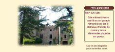 Barcelona Osona castillo en venta