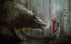 Red Riding Hood | Red Riding Hood | Illustration Art | The Design Inspiration