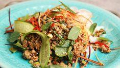 Foto: Tone Rieber-Mohn / NRK Asian Recipes, Ethnic Recipes, Easy Recipes, Frisk, Food To Make, Salads, Recipies, Easy Meals, Pizza