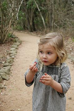 Black and white smocked dress - Camp fall collection