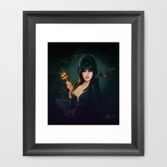 Buy Elvira by Adroverart as a high quality Framed Art Print. Worldwide shipping available at Society6.com. Just one of millions of products available.