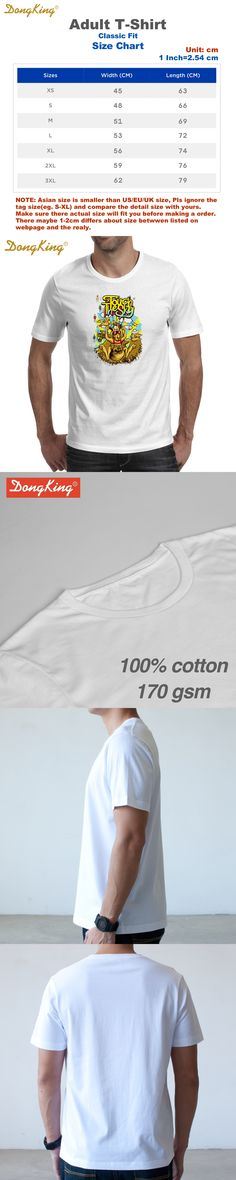 DongKing Touch The Sky Australia Kangaroo Print T-shirts Cotton Men White Tee Gifts for Him Her Regular Slim Fit for ladies