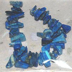 Lapis Lazuli chips 10cm/st