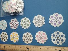 20 handcrafted  paper flowers for by PaperCraftingByMandy on Etsy, $4.99