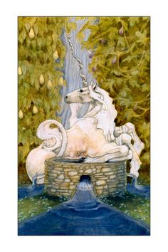 The 5 of Cups Tarot Print Maryel Tarot by Marie White
