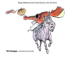 The National Memo » Happy Halloween, From Your Friends At The Tea Party
