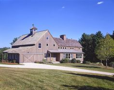Post and beam barn home