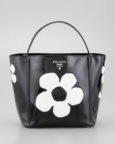 prada flower bag