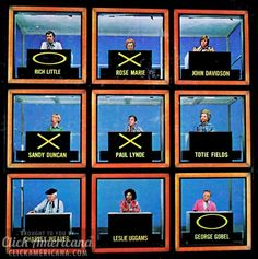 Hollywood Squares - tv show. I loved this show! Paul Lynde, Joanne Worley, Wally Cox, Rich Little, Rose Marie - - so funny. Loved how they teased & picked on each other. My Childhood Memories, Sweet Memories, 1980s Childhood, Childhood Images, Childhood Movies, School Memories, Childhood Friends, Duncan, Tv Show Games