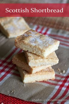 Traditional Scottish shortbread recipe