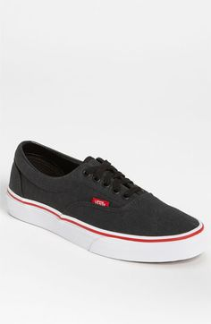 Vans 'Era' Sneaker (Men) available at Nordstrom Mens Boots Fashion, Fashion Shoes, Vanz, Types Of Shoes, Beautiful Shoes, Swagg, Vans Shoes, Me Too Shoes, Men Dress