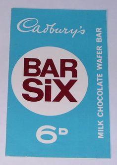 Cadbury's Bar Six