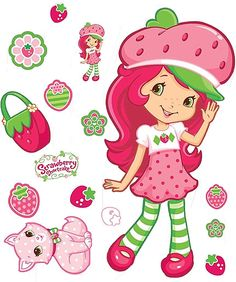 """Strawberry Shortcake    ... now with this picture of my """"grown-up"""" strawberry shortcake"""